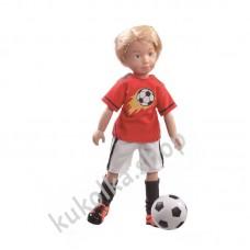 Куколка МИХАЭЛЬ ФУТБОЛИСТ (Kruselings), 23 см