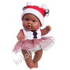 Куколка-пупс в новогоднем наряде, Геба, 22 см