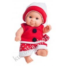 Куколка-пупс в новогоднем наряде, мальчик, Альдо, 22 см