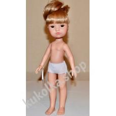 Куколка ГРЕТТА РУСАЯ С ХВОСТИКОМ И ЧЕЛКОЙ, 34 см