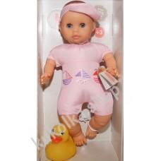Куколка-пупс для купания в розовом, 34 см