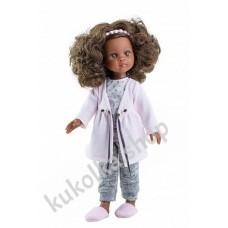 Куколка НОРА В ПИЖАМЕ И ХАЛАТИКЕ, 34 см