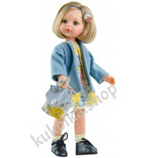 Куколка КАРЛА С РЮКЗАЧКОМ, 34 см