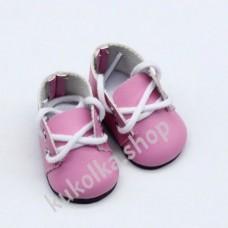 Ботинки для куколок 32-34 см, розовые