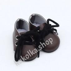 Ботинки для куколок 32-34 см, коричневые