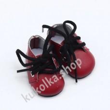 Ботинки для куколок 32-34 см, красные