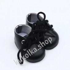 Ботинки для куколок 32-34 см, чёрные