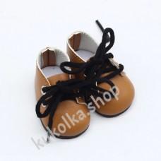 Ботинки для куколок 32-34 см, горчичные