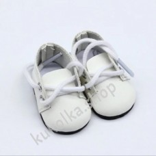 Ботинки для куколок 32-34 см, белые