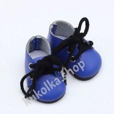 Ботинки для куколок 32-34 см, синие