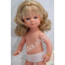 Куколка МАРИЕТТА БЛОНДИНКА С ВОЛНИСТЫМИ ВОЛОСАМИ И ЧЕЛКОЙ, 35 см