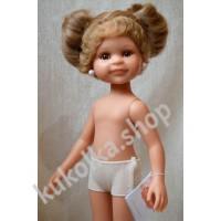 Куколка КЛЕОПАТРА С 2 РУСЫМИ ХВОСТИКАМИ, 34 см