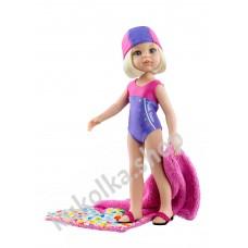 Куколка Клаудиа пловчиха, 32 см