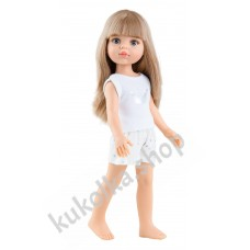 Куколка Карла в пижамке, 32 см