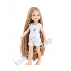 Куколка Маника в пижамке, 32 см