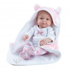 Куколка Бэби с розовой накидкой, девочка, 32 см