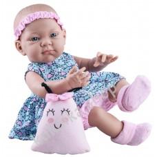 Куколка Бэби с детской игрушкой, девочка, 36 см