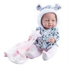 Куколка бэби и одеяльце со звездой, девочка, 45 см