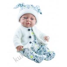 Куколка Бэби в плюшевом костюмчике, мальчик, 45 см