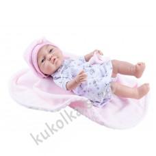 Куколка Бэби с розовым одеяльцем, девочка, 45 см