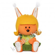 Белка Бика в шапочке и платье, мягкая игрушка Budi Basa лЕсята, 15 см