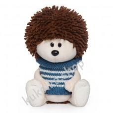 Ёжик Игоша в свитере, мягкая игрушка Budi Basa лЕсята, 15 см