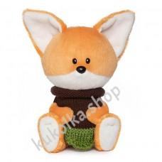 Лисичка Лика в платье, мягкая игрушка Budi Basa лЕсята, 15 см
