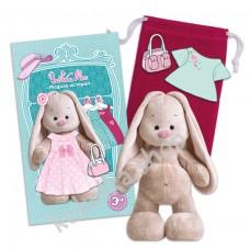 Зайка Ми Магнитная кукла одевашка мягкая игрушка Budi Basa, 16 см