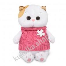 Кошечка Ли-Ли Baby в жилетке мягкая игрушка Budi Basa, 20 см