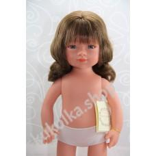 Куколка СЕЛИЯ БРЮНЕТКА С ВОЛНИСТЫМИ ВОЛОСАМИ И ЧЕЛКОЙ, 35 см