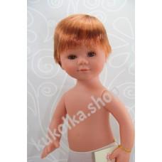 Куколка МАРИО РЫЖИК С КОРОТКИМИ ВОЛОСАМИ И МЕДОВЫМИ ГЛАЗАМИ, 35 см