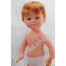 Куколка МАРИО РЫЖИК С КОРОТКИМИ ВОЛОСАМИ И ЗЕЛЕНЫМИ ГЛАЗАМИ, 35 см