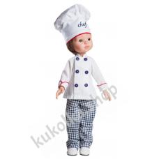 Куколка Карлос повар, 32 см