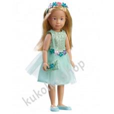 Куколка ВЕРА В НАРЯДНОМ ПЛАТЬЕ ДЛЯ ВЕЧЕРИНКИ (Kruselings), 23 см